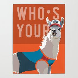 Who's Your Llama Poster