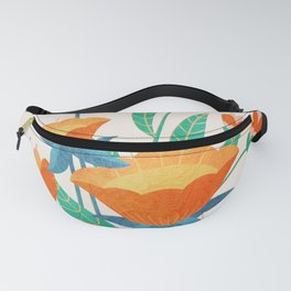Summer Flowers I Fanny Pack