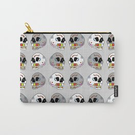 Skulls all Around Carry-All Pouch