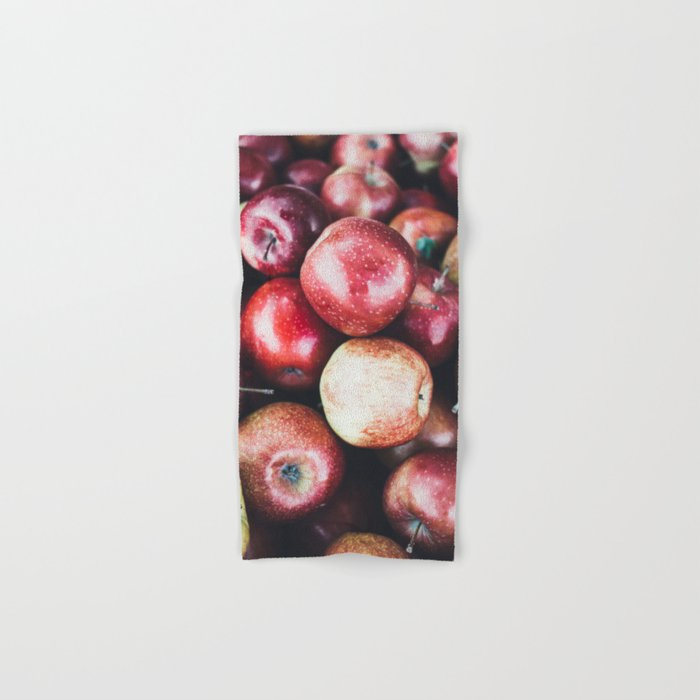 Red Apples Hand & Bath Towel