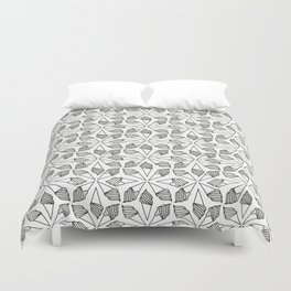 CONE / pattern pattern Duvet Cover