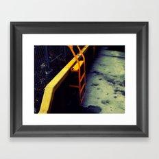 Ladder Framed Art Print