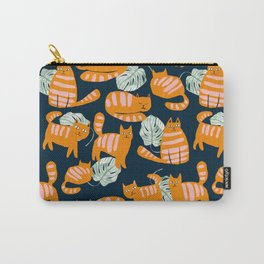 Whimsicat #illustration #animalprint #pattern Carry-All Pouch