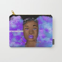 Cosmic Afro Puffs V2  Carry-All Pouch
