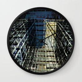Urban Berlin Facade Wall Clock