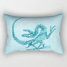 Velociraptor Rectangular Pillow