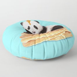 PANCAKE PANDA Floor Pillow