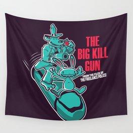 The Big Kill Gun Wall Tapestry