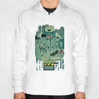 ghostbusters Hoodies featuring Ghostbusters by Ale Giorgini