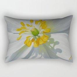 Bloodroot Up Close Rectangular Pillow