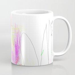 abstract whale Coffee Mug