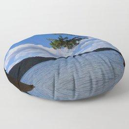 Grand Lake/Spirit Lake, Colorado Floor Pillow