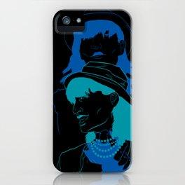 Run Blue Run iPhone Case