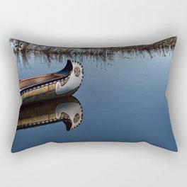 The Way of the Canoe Rectangular Pillow