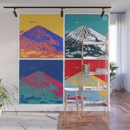 Mt. Fuji Pop Art Wall Mural
