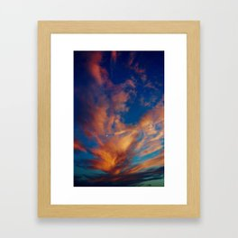 Jewelled Sky Framed Art Print