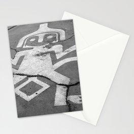 Sidewalk art Stationery Cards