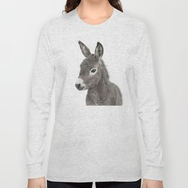 Baby Donkey Long Sleeve T-shirt