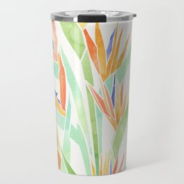 Birds of Paradise ~ tropical bouquet Travel Mug