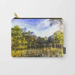 The Bulrush Pond Art Carry-All Pouch