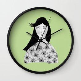 Feel the breeze Wall Clock
