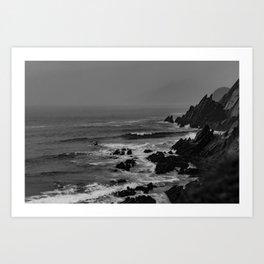 Rocky Coast of Ireland Art Print