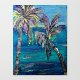 My Kind of Palms! Canvas Print