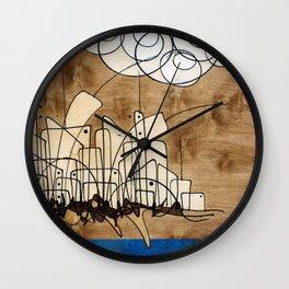 Living City #106 Wall Clock