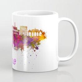 Pune skyline in watercolor Coffee Mug