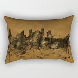 Sydney Harbour, Australia skyline B&B Rectangular Pillow
