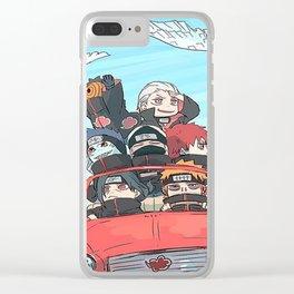 akatasuki cars Clear iPhone Case
