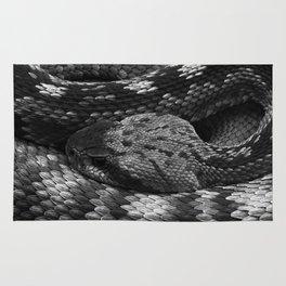 Diamondback Rattlesnake Rug