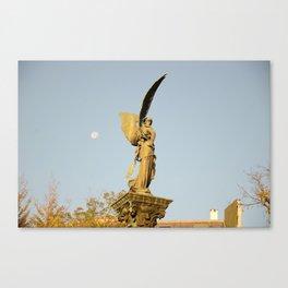 Angel of the Parc Montsouris Canvas Print