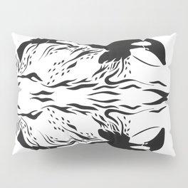 Whale Breach Pillow Sham
