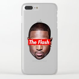Dwayne Wade Clear iPhone Case