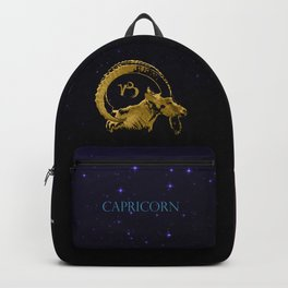 Capricorn the Sea-Goat Backpack