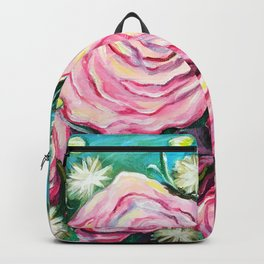 May Tea Roses Backpack