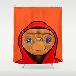 Sporty ET Shower Curtain
