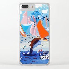 Regatta by Raoul Dufy Clear iPhone Case