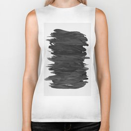 Abstract Minimalism #2 #minimal #ink #decor #art #society6 Biker Tank