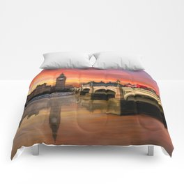 London Sunset Comforters