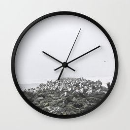 Bird Territory Wall Clock