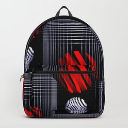 3D - abstraction -81- Backpack