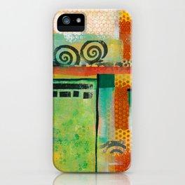Abstract Landscape II iPhone Case
