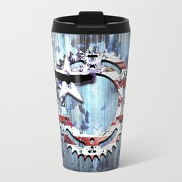 blue steel USA Travel Mug