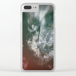 Sweet Frugality Ghost 1 Clear iPhone Case