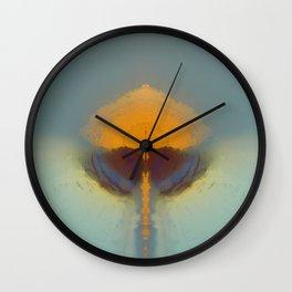 Mushroom Wall Clock