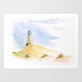 Lighthouse Impressions IV Art Print