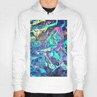 holographic Hoodies featuring Holographic II by Nestor2