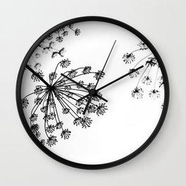 FENNEL UMBRELLAS Wall Clock